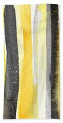 Sun And Shadows- Abstract Painting Hand Towel