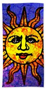 Sun Salutation Bath Towel