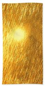 Sun Spot Abstrasct Bath Towel