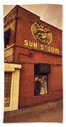 Sun Studios Memphis  Bath Towel