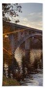 Sundown Bridge Bath Towel
