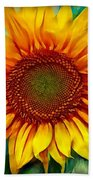 Sunflower - Paint Edition Bath Towel