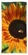 Sunflower And Bee-4041 Bath Towel