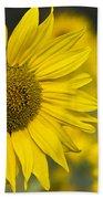 Sunflower Blossom Bath Towel