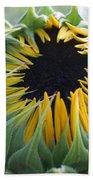 Blooming Sunflower Bath Towel
