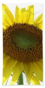 Sunflower In Light Bath Towel