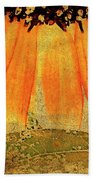 Sunflower Montage Bath Towel