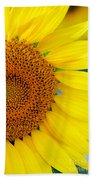 Sunflower Petals Bath Towel