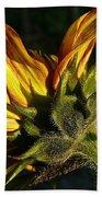 Sunflower Profile Bath Towel