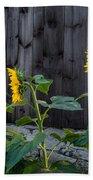 Sunflower Quartet Bath Towel