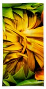 Sunflower Volunteer Bath Towel