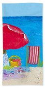 Sunny Afternoon At The Beach Hand Towel