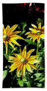 Sunny Flowers Bath Towel
