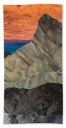 Sunrise At Manly Beacon Bath Towel