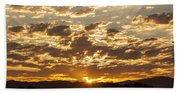 Sunrise At Spirit Lake Sanctuary Lower Lake Ca 20140710 0609 Hand Towel