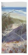 Sunrise Beach Dunes Sunshine Coast Qld Australia Bath Towel