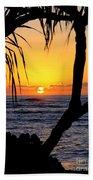 Sunrise Fuji Beach Kauai Bath Towel