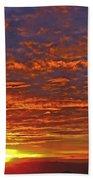 Sunrise In Colombia Bath Towel