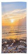 Sunrise In The Atlantic Bath Towel