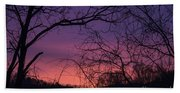 Sunrise January 21 2012 Bath Towel