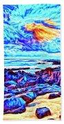 Sunrise Near Poipu Beach Bath Towel