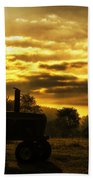 Sunrise On The Deere Bath Towel