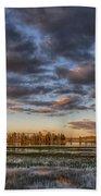 Sunrise On Yellowstone Lake Bath Towel