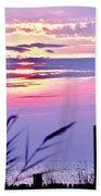Sunrise Through The Dunes Bath Towel