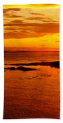 Sunset At Bic Bath Towel