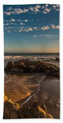Sunset At Crystal Cove 12 Bath Towel