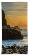 Sunset At The World's End II Bath Towel