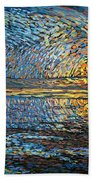 Sunset Before The Storm Bath Towel