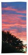Sunset Bicolor Bath Towel