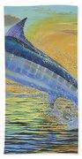 Sunset Blue Off0085 Bath Towel