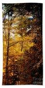 Sunset Forest Bath Towel