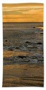 Sunset From Damon Point Bath Towel