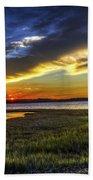 Sunset In Delaware Bath Towel