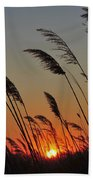 Sunset Island Beach State Park Nj Bath Towel