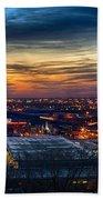 Sunset Metro Lights And Splendor Bath Towel