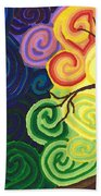 Sunset Moonrise Bath Towel