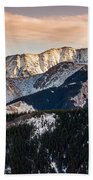 Sunset Mountains Bath Towel