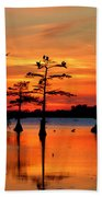 Sunset On The Bayou Bath Towel