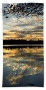 Sunset Reflection Bath Towel