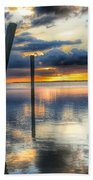 Sunset Reflections Bath Towel