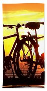 Sunset Ride Bath Towel