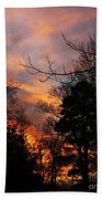 Sunset View From The Path Bath Towel