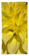 Sunshine Dahlia Bath Towel