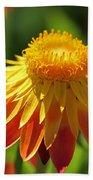 Sunshine Flowers Bath Towel