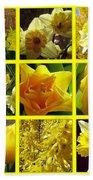 Sunshine Gold Picture Window Bath Towel