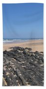 Surf Beach Portugal Bath Towel